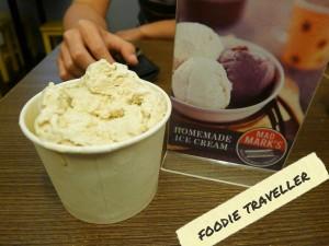 Mad Mark's Madagascar Vanilla Bean Ice Cream (PhP 110)
